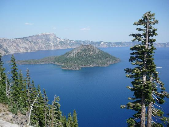 Crater Lake National Park: Wizard Island