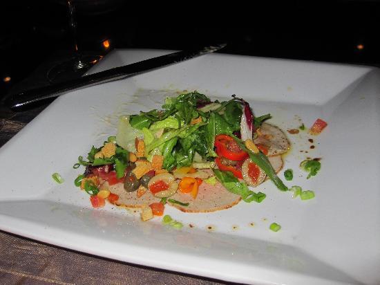 Carte Blanche Restaurant: Second Appetizer