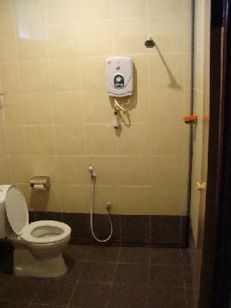 White Lodge Motel: Superior room WC