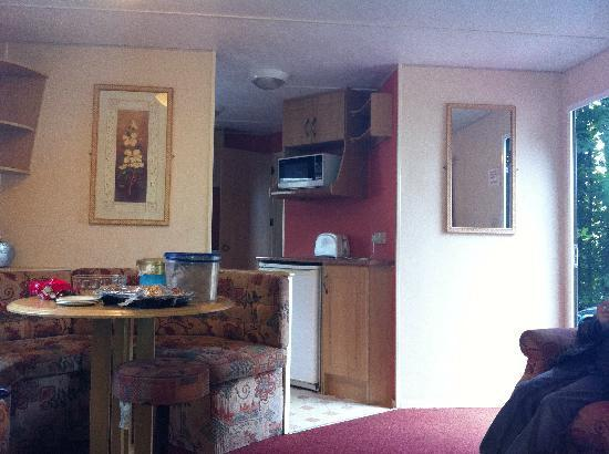 Parkdean Resorts - Torquay Holiday Park: Living area of our caravan