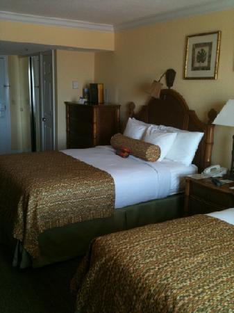 Bilmar Beach Resort: two queen kitchenette w/balcony