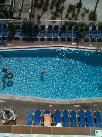 Bilmar Beach Resort: view from balcony overlooking main pool beachfront