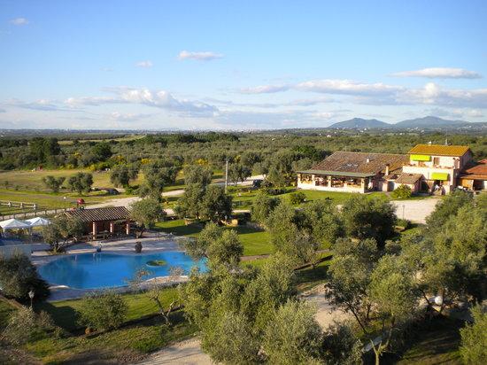 Vetralla, Itália: veduta aerea della struttura