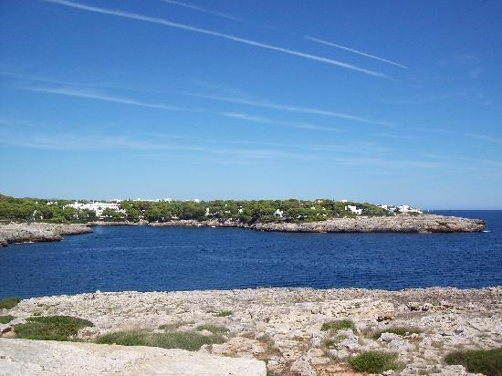 Mar Hotels Ferrera Blanca: taken from the old Fort near Porto Petro