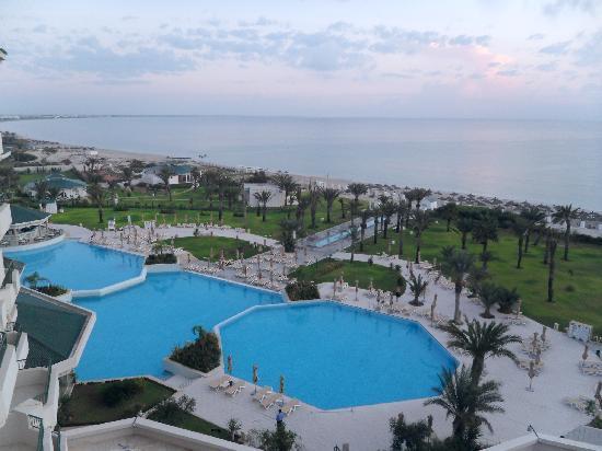 Iberostar Royal El Mansour: vue de notre chambre