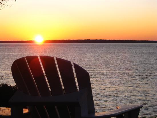 Inn at Sunrise Point: Sunrise at Sunrise Point