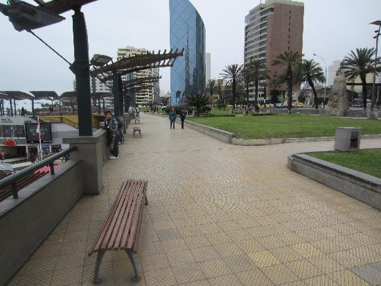 Shopping Center Larcomar (Centro Comercial Larcomar): Topside, This is All You See