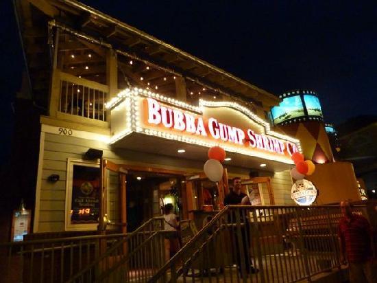 Bubba Gump Shrimp Co. Restaurant and Market: Bubba Gump Gatlinburg