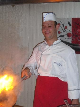Green Forest Hotel: Try the pasta - cooked to your own taste!