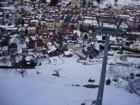 Hasenhorn Coaster Todtnau: View from the cable car