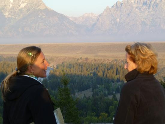 Ana's Grand Excursions: ana on left overlooking Snake