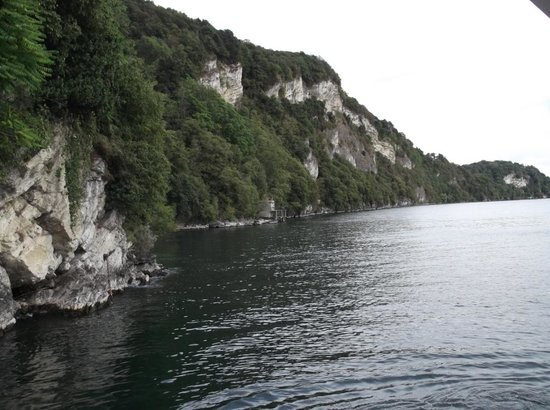 Eremo di S. Caterina del Sasso: One of the many beautiful views from l'Eremo