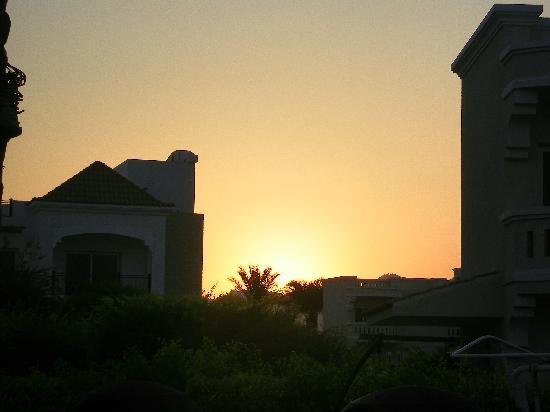Tropitel Naama Bay: sunset