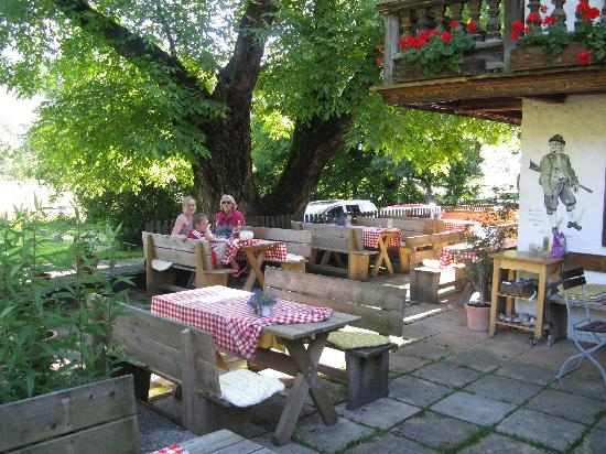 Outdoors at Cafe Kreuz