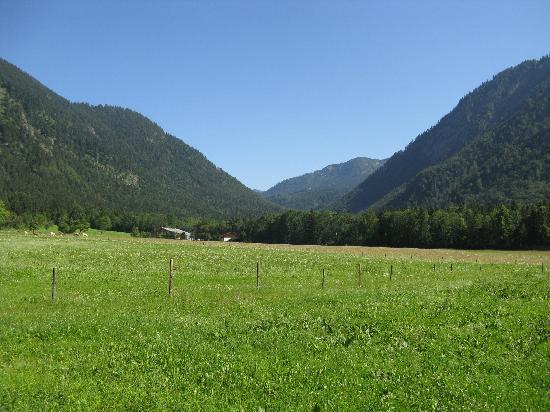 Views on the way to Cafe Kreuz