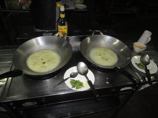 เอเชีย ซีนิค ไทยคุกกิ้งสคูล: Thai Green curry