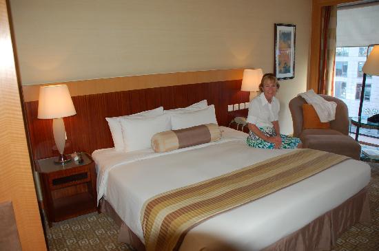 โรงแรมพาร์ค พลาซ่า ปักกิ่ง แวงฟูจิง: Our Room