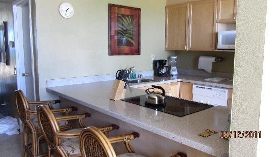 Hawaiian Princess Resort: Kitchen Area