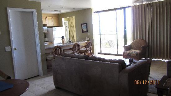 Hawaiian Princess Resort: The room