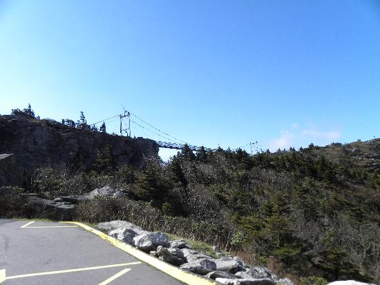 Grandfather Mountain: the Swinging Bridge