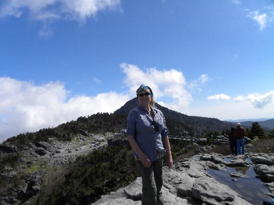 Grandfather Mountain: view from top of mountain