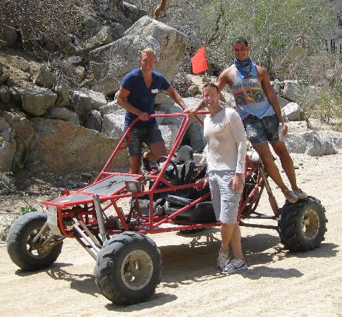 Baja Buggys: taking a break