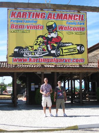 Karting Almancil Fun Park: Entrance
