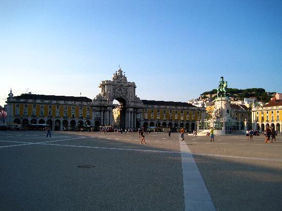 Praca do Comercio (Terreiro do Paco): Praça do Comercio 2