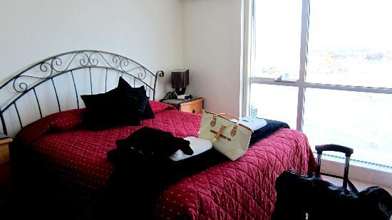 Moorings on Cavill: the first bedroom