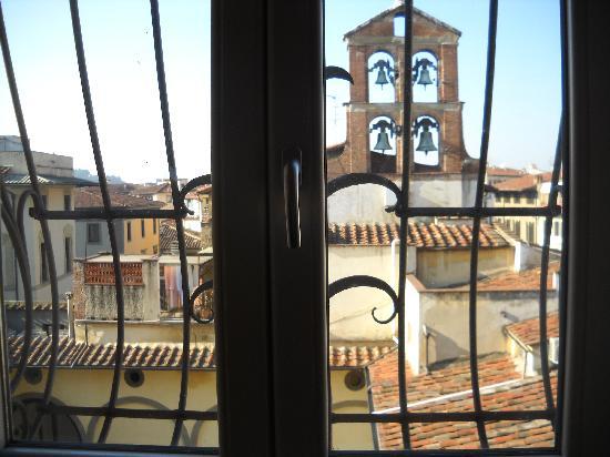 Hotel Perseo: Vista desde la habitación