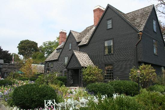 The House of the Seven Gables: House of Seven Gables--inspiration for Hawthorne's book