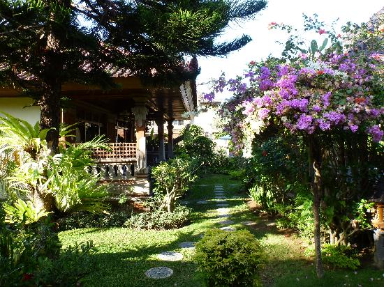 Hotel Segara Agung: View from our front porch