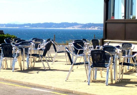 Hotel Delfin Azul: Terraza Cafetería