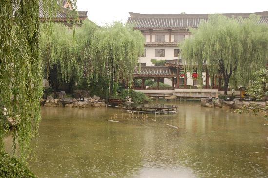 Xi'an Garden Hotel: Garden with filling pond