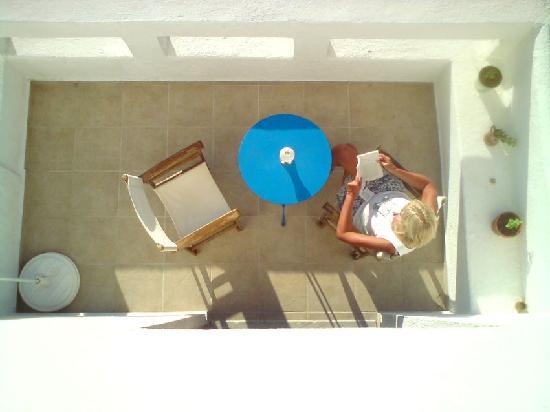 Elounda Island Villas : veranda
