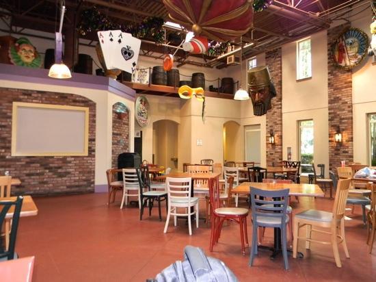 Disney's Port Orleans Resort - French Quarter: el salon comedor