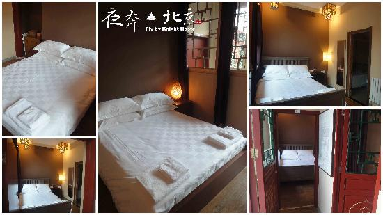 Fly by Knight Courtyard Beijing: Brand new renovated interior rooms