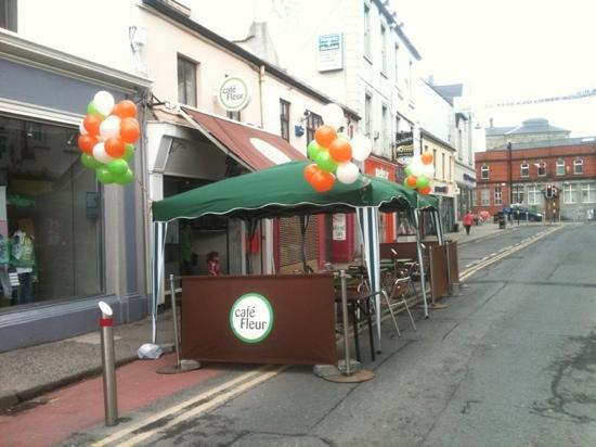 St Patricks day 2011 @ cafe Fleur