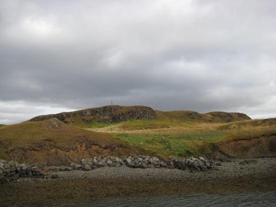 Videy Island: Beach on Viðey