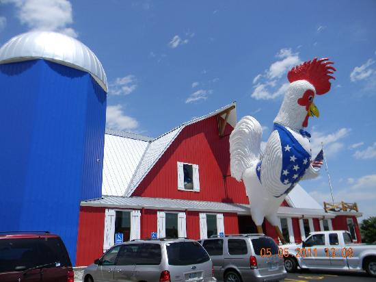 The Great American Steak & Chicken House: Building