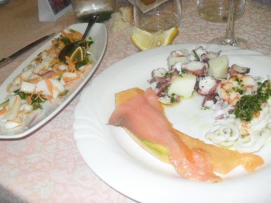 Albergo Tonino Da Rosanna: un piatto preparato dalla signora Rosanna