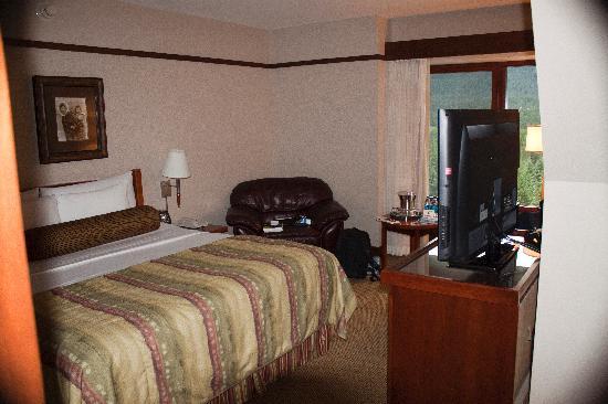 Hotel Alyeska: Hotel room