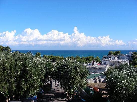 Touring Hotel: vue de la terrasse