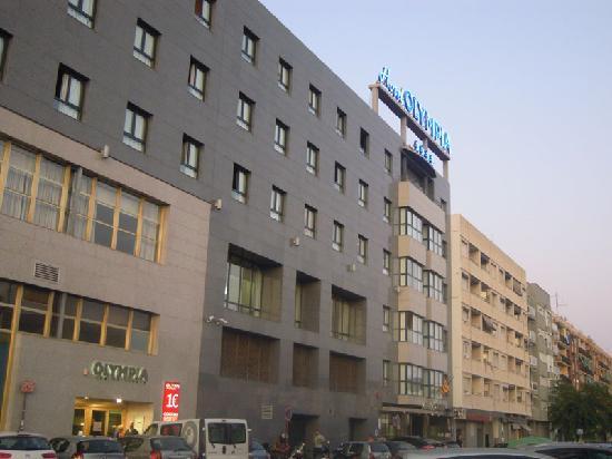 Hotel Olympia: ingresso hotel