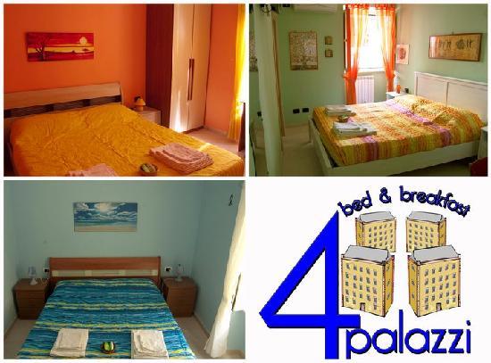 B&B Quattro Palazzi: le 3 camere