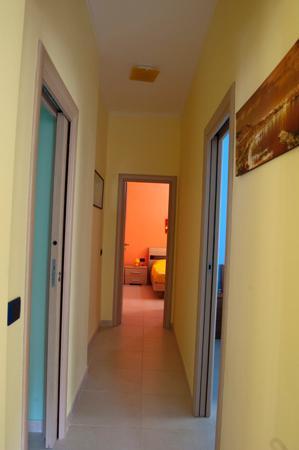 B&B Quattro Palazzi: corridoio