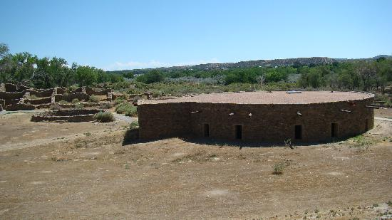 Aztec Ruins National Monument: Kiva