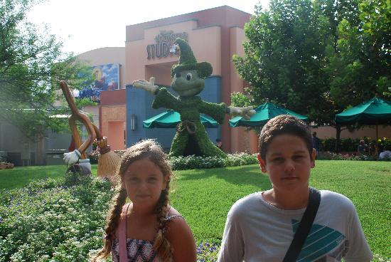 Walt Disney World Resort: ¡Que jardineros!
