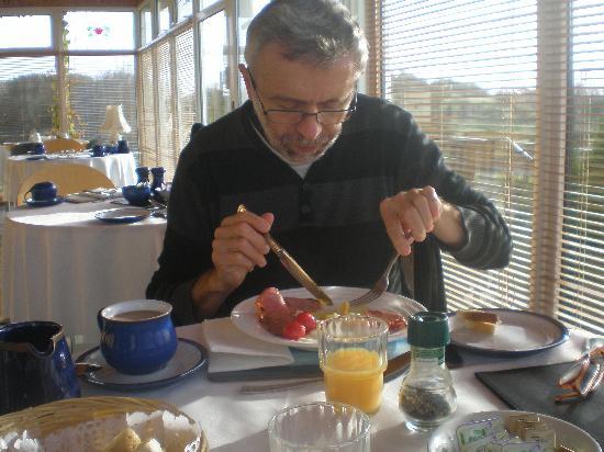 Rowanville Lodge: breakfast