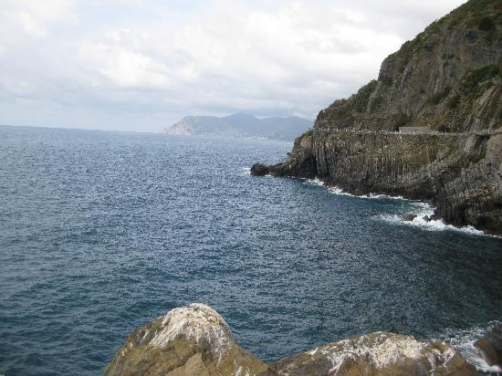 Via dell'Amore: View from walks